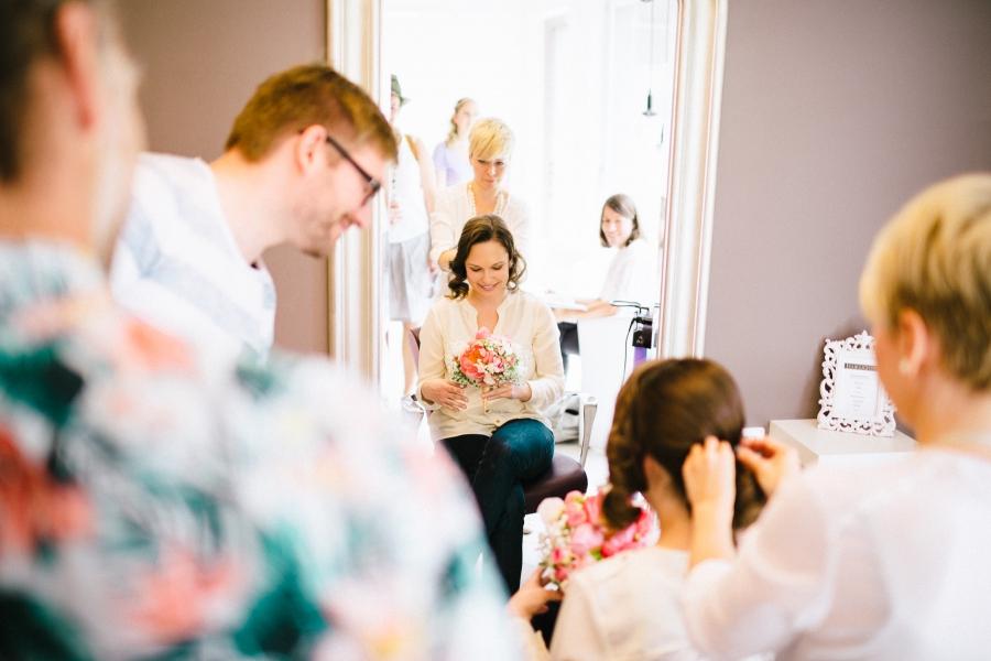 wedding hair zurich